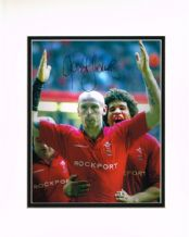 Gareth Thomas Autograph Signed Photo - Rugby